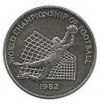 Moneda Jamaica 01 Dolar 1982 S/C
