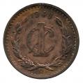 Moneda México 0,01 Centavo 1939 MBC