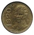 Moneda México 0020 pesos 1985.MBC