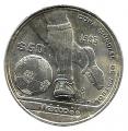 Moneda México 0050 pesos 1985.S/C Mundial Futbol