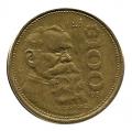 Moneda México 0100 pesos 1987.MBC