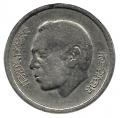 Moneda Marruecos 0,50 Santimat 1974. MBC