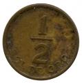 Moneda Peru 000001/2 Sol Oro 1976. MBC
