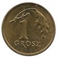 Moneda Polonia 000001 Grosz 2009 MBC+