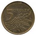 Moneda Polonia 000005 Groszy 2002 MBC