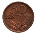 Moneda Portugal  0,50 centavos 1974 . MBC