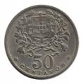 Moneda Portugal  0,50 centavos 1957 . MBC