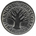 Moneda Portugal  050 escudos 1971 S/C. Ag. 0,500