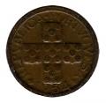 Moneda Portugal  0,10 centavos 1954. MBC+