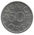 Moneda Suecia 00050 Ore 1981 MBC+