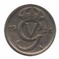 Moneda Suecia 10  Ore 1924 MBC