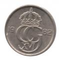 Moneda Suecia 00010 Ore 1987 MBC