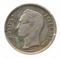 Moneda Venezuela 0,25 céntimos 1965 SC