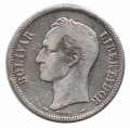 Moneda Venezuela 005 bolívares 1912 MBC