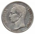 Moneda Venezuela 005 bolívares 1929 MBC