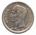 Moneda Venezuela 001 bolívar 1967 MBC