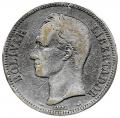 Moneda Venezuela 005 bolívares 1904 MBC