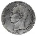 Moneda Venezuela 005 bolívares 1903 MBC