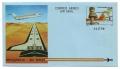 Nº 207-8. Aerograma Aeropuerto de Foronda y de Gerona - 1984