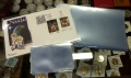 Paquete 100 Bolsas Cristal Postal Moderna