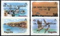 Sello Boy Scout Anguilla 598/601 (**) 1985