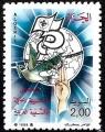 Sello Boy Scout Argelia 923 (**) 1988