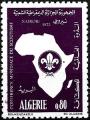 Sello Boy Scout Argelia 574 (**) 1973