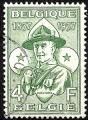 Sello Boy Scout Belgica 1023 (o) 1988