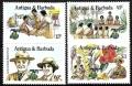 Sello Boy Scout Antigua y Barbuda 0863/66 (**) 1985