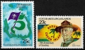 Sello Boy Scout Cocos Islands 084/85 (**) 1982