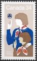 Sello Boy Scout Canada 0931 (**) 1985