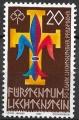Sello Boy Scout Liechtenstein 0714 (**) 1986