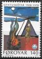 Sello Boy Scout Islas Feroe 035 (**) 1986