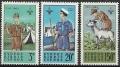 Sello Boy Scout Chipre 0212/14 (**) 1963