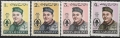 Sello Boy Scout Afganistan 684/87 (**) 1962