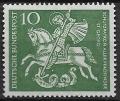 Sello Boy Scout Alemania 0219 (**) 1961