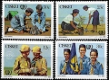 Sello Boy Scout Ciskei 75/78 (**) 1985
