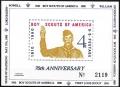 Sello Boy Scout Estados Unidos Tarjeta (**) 1980