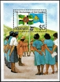 Sello Boy Scout Dominica HB 96 (**) 1985