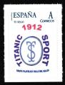 Sello Centenario Titanic Sport 1912