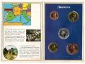 Serie Monedas Andorra (5 Val). Cartera 1986