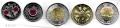 Serie Monedas Canada (5 Val) 2004/19. Ejercito