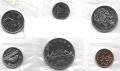 Serie Monedas Canada (6 Valores).  S/C 1972