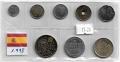 Serie Monedas España pesetas (8 Valores). 1998 S/C