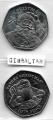Serie Monedas Gibraltar (2 Val) 2017/18.  Navidad