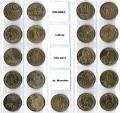 Serie Monedas Polonia (21 Valores). 2011 S/C