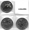Serie Monedas Ucrania (3 Val). 2018 S/C