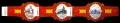 Serie Vitolas La Marina. Loteria Navidad 83. 3 Vitolas