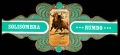 Serie Vitolas Rumbo. Cartel Taurino Verde. 18 Vitolinas Gigantes