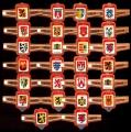 Serie Vitolas Senator. Escudos Bélgica. Sin Número.  26 Vitolas